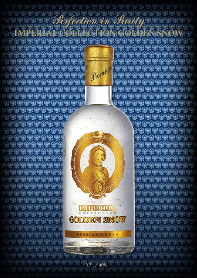 Imperial Collection Golden Snow vodka