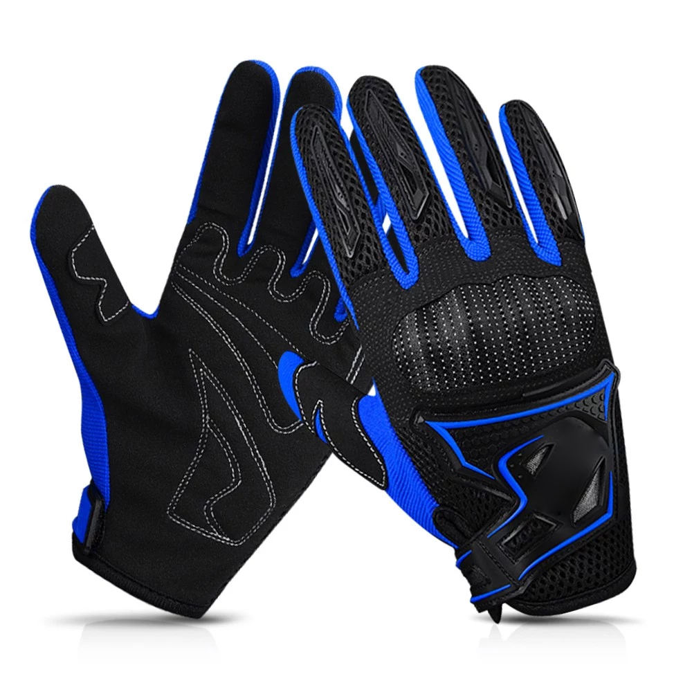 New fashion style custom black full finger cycling glove