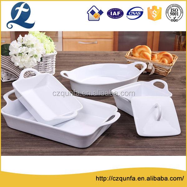 Сертификации гарантии пищевой керамические формы для выпечки противни