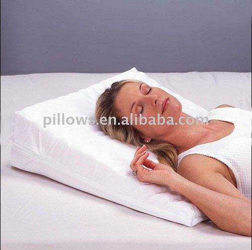 Multi Position Wedge Pillow/Wedge Memory Foam Support Cushion