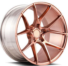 Customized Forged Aluminum Alloy Car Rims Pink Forged Wheels Rims for car
