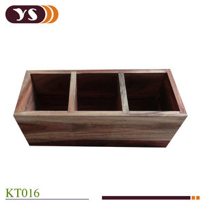 Custom Logo Luxury Tea Set Bento Gift Storage Wooden Box
