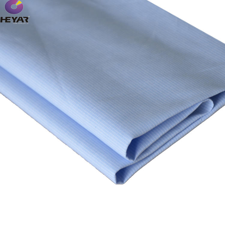 high quality italian 100 cotton yarn dyed plain fabric for shirts