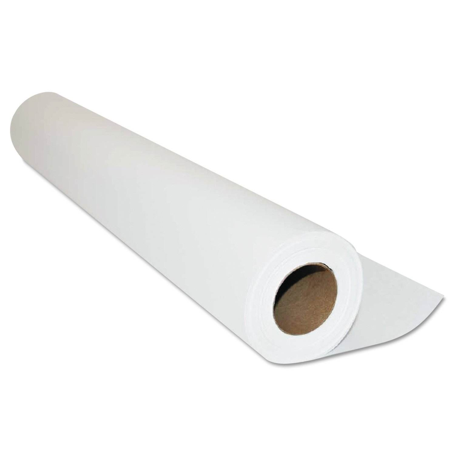 Exam Paper Roll/Disposable/Smooth Paper/18 Inch x 225Feet/White/Case of 12