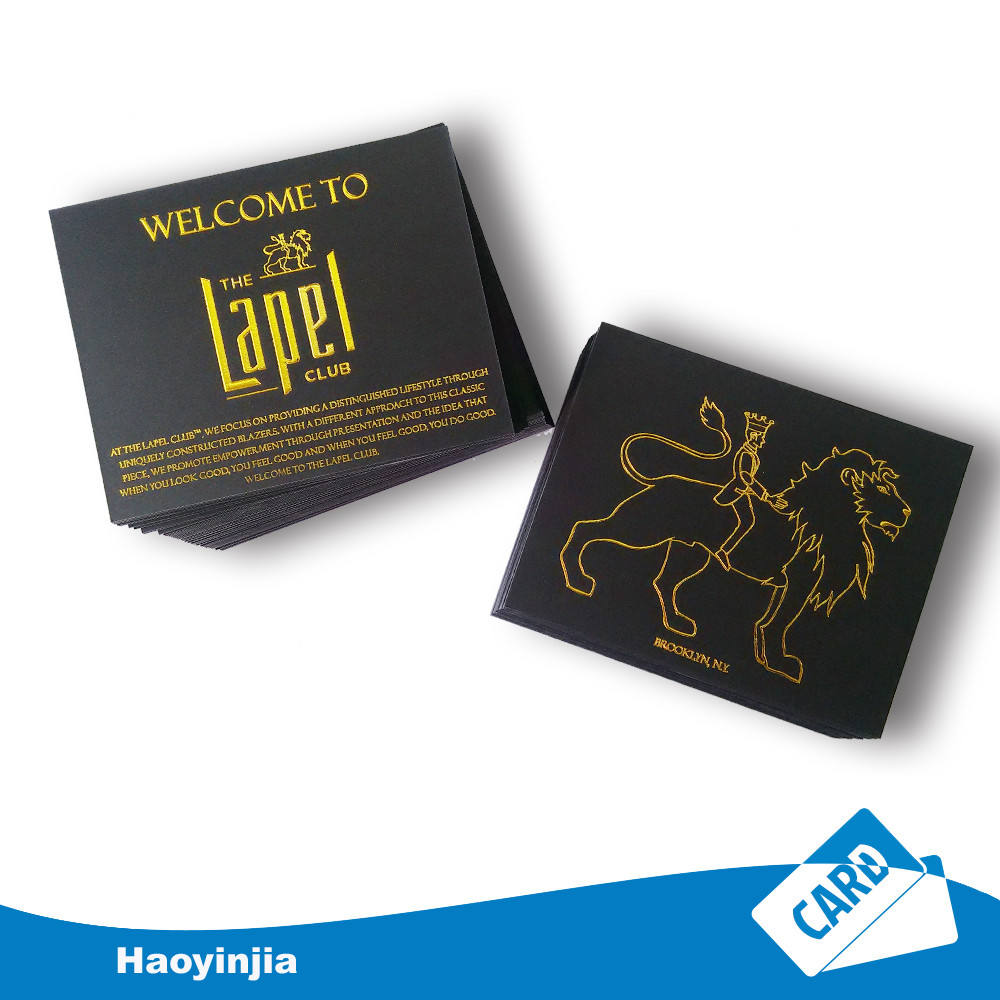OEM Printing paper or plastic invitation card