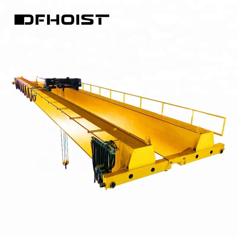 iso certified warehouse dedicate 20t double girder overhead crane 20 ton for sale