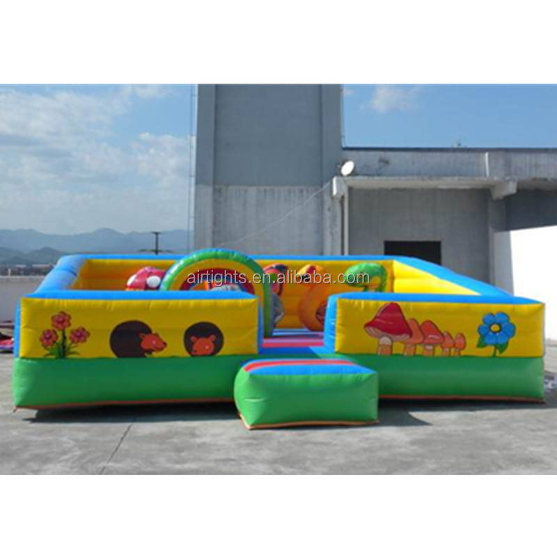 0.55mm PVC inflatable jumpers, inflatable fun bouncer, children toddler play zone