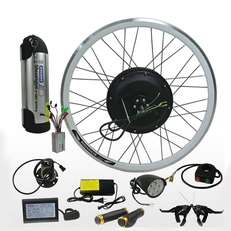 26 inch 36v 250w 350w 500w motor lithium battery cheap electric bicycle conversion kit