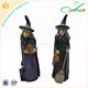 Custom western style polyresin decorative halloween witch dolls