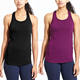 New Arrivals No Name Clothing Sports Wear Wholesale Custom Made Gym Solid Breathable Slim Fit Women Tank Top The Sports Apparel