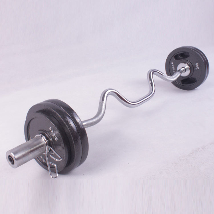 china factory price olympics competition outdoor weightlifting barbell bar plate set rack