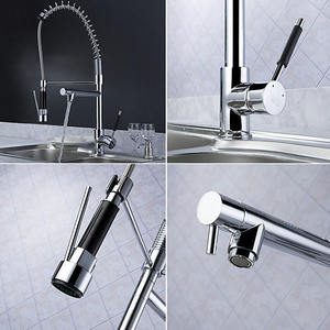 Faucet 3 Way Kitchen Sink Pull Out Faucet Chrome Faucet Spray Pull Out 3 Way Kitchen Sink Mixer Tap