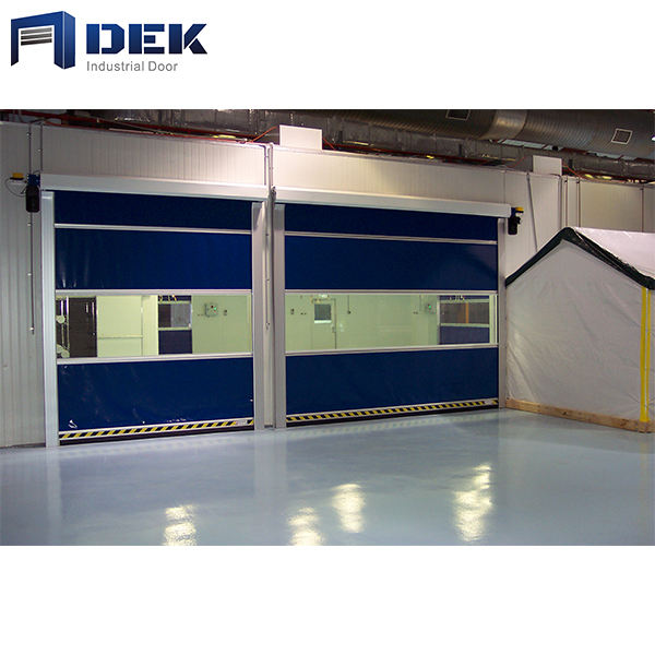 interior stainless steel fast lifting speed door