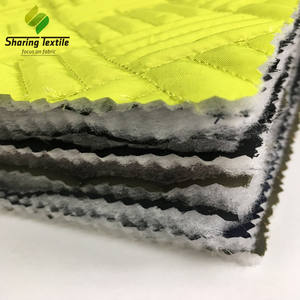 Wholesale Polyester Taffeta Wadding Quilted Fabric/Quilted Wadding Fabric/Quilted Padding Fabric
