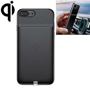Carga inalámbrica Qi receptor cargador volver funda protectora para iPhone 7 Plus