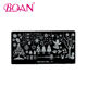 2015 BQAN Christmas Cartoon Nail Art Plate