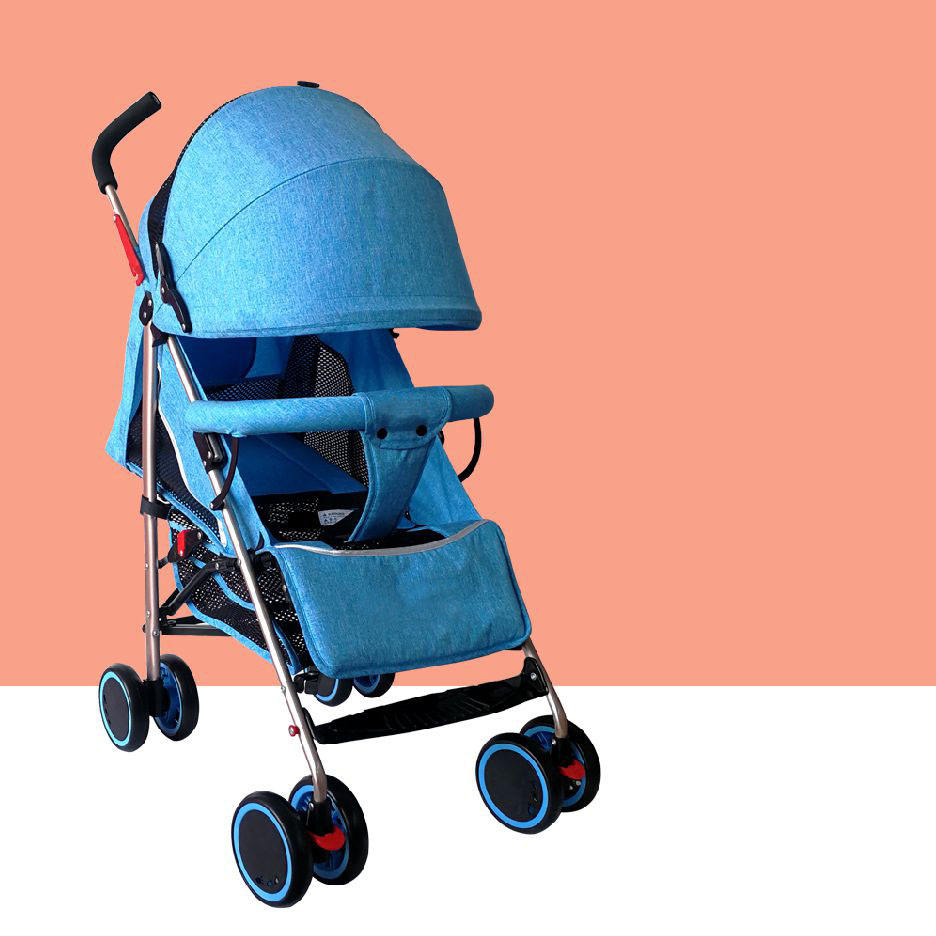 Cheap Price Factory Wholesale Baby Walker Easy Control Baby trolley,Polyester Umbrella baby stroller