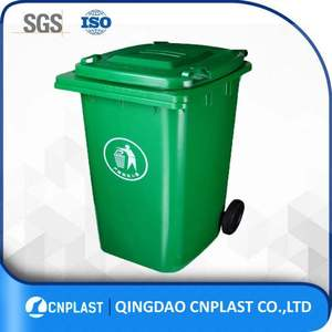 120L 240L 360L Galvanized Garbage Bin Nontoxic And Safe