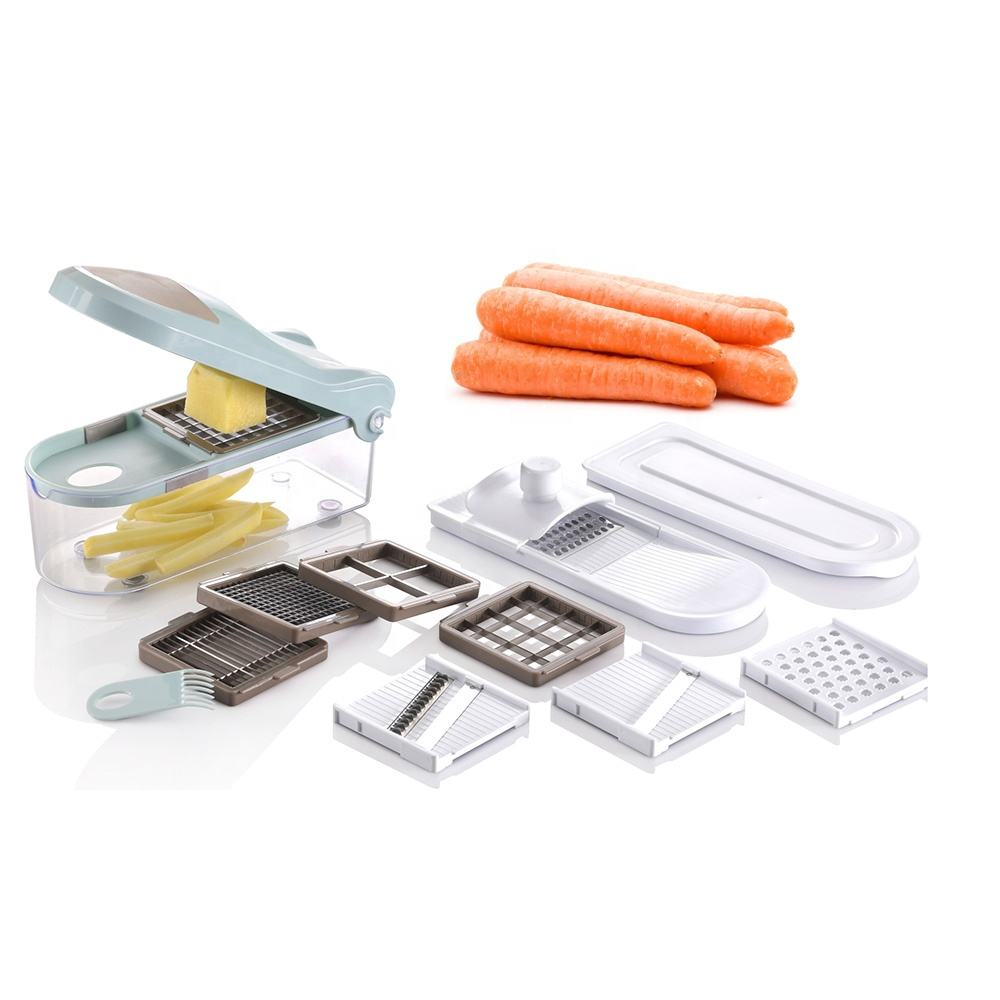Plastic Multi Wonder Manual Slicer Manual Super Slicer With 9 Blades