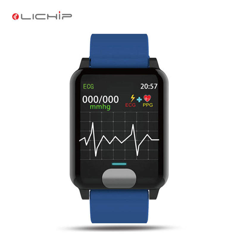 LICHIP L280 ECG PPG Heart Electricity smart watch 2019 HRV analysis smart bracelet band smartwatch cell phone