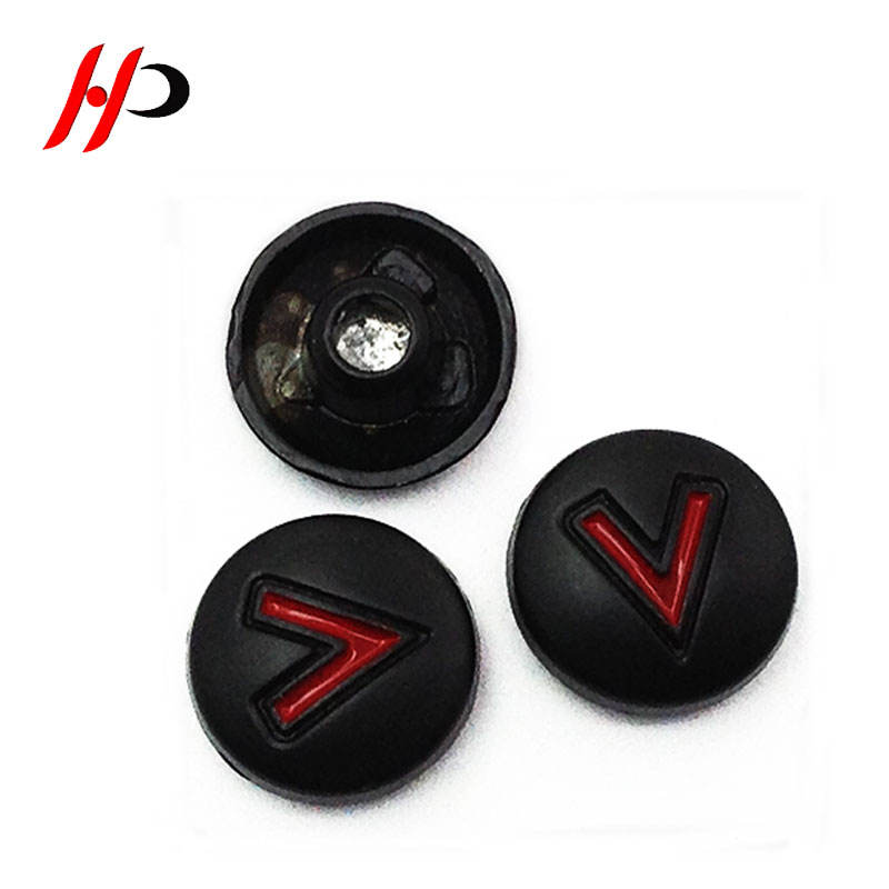 China factory custom logo fashion 10mm round zinc alloy metal studs and metal rivets for handbags