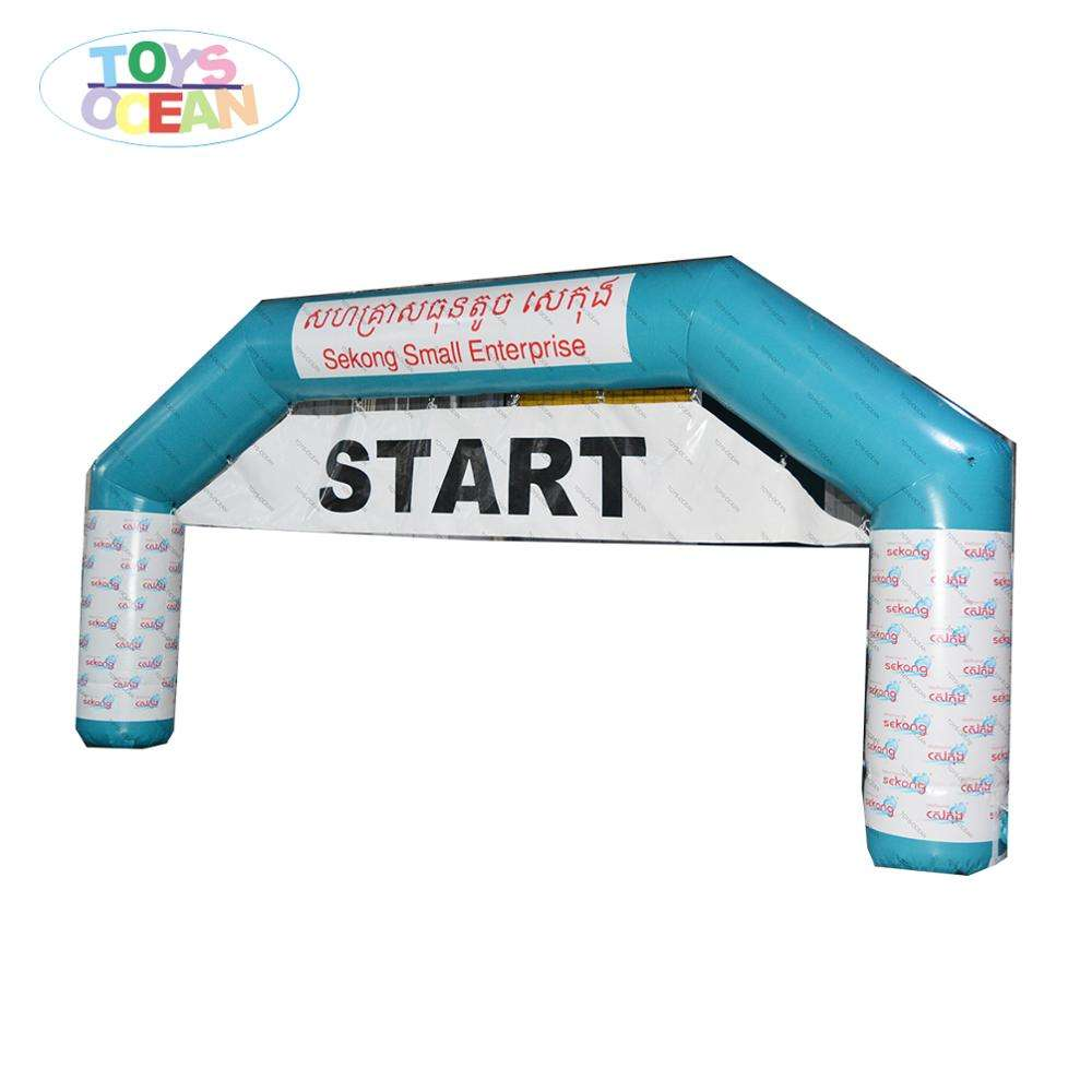 Custom Print Event Promotion Inflatable Arch For Advertising