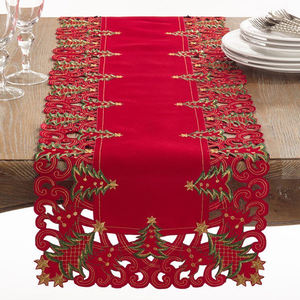 Collection Holiday Christmas Tree Table Runner 16