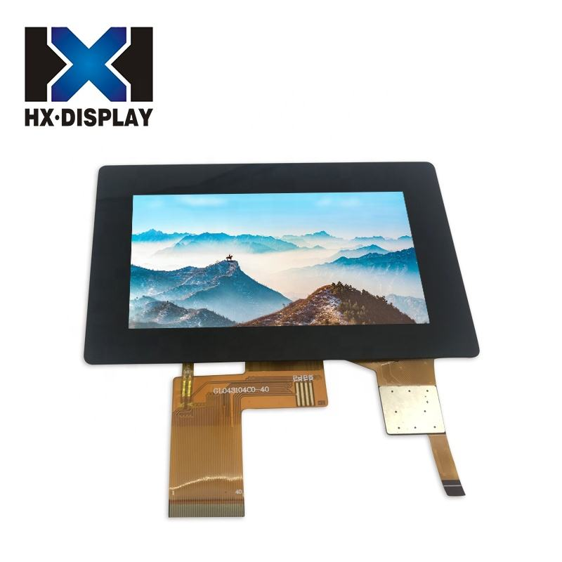 Smart home Project TFT LCD 480x272 Display Panel 4.3 inch Capacitive Touch Screen