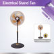 Hot electric home appliance SS-1620RBRG-5AS stand fan with flat wheel base