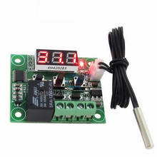 XH-W1209 W1209 digital temperature controller control Switch thermostat 12V 24V 10A 30A relay