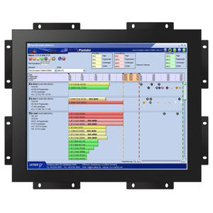 Sunlight readlable IP65 touch screen 10 inch to 32 inch cga ega vga open frame lcd monitor