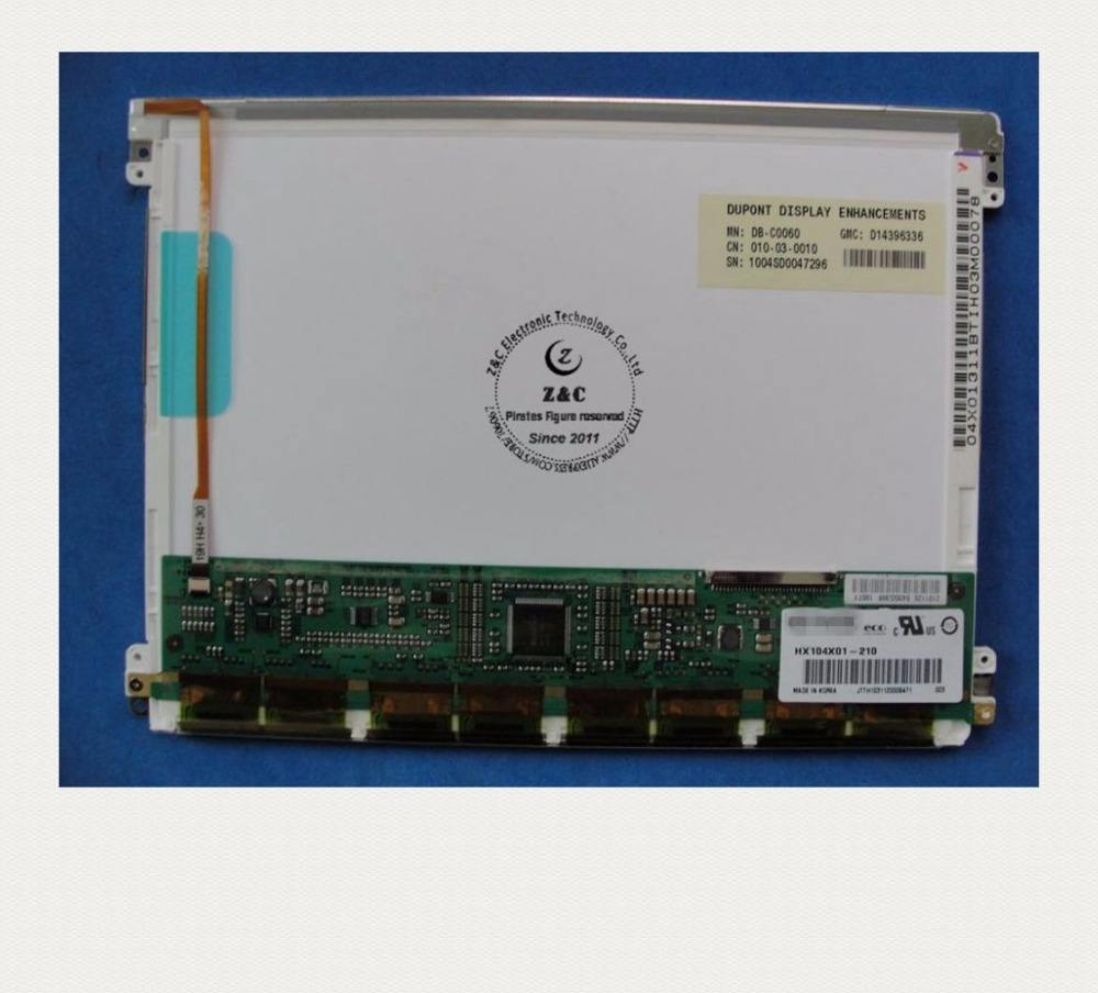 "HX104X01-210 Original 10.4 ""polegadas TFT 1024*768 XGA LCD screen display para HYDIS"