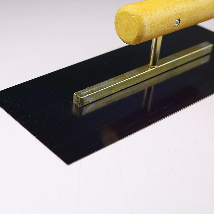 Concreto Acabado Pala Alba/ñiler/ía Mano Paletas para el Jard/ín Yarda Paisajes 18.5x10x12.5cm C/ésped Patio Lechada Roads Concreto Fabricaci/ón Molde con Mango de Pl/ástico Concreto Pala