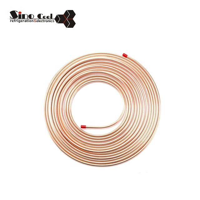 High quality ASTM B280 air conditioner pancake coil copper pipe