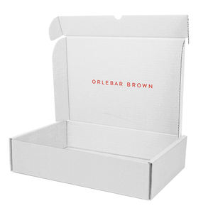 White Corrugated Mailer Box Clothes Packaging Luxury Baby Gift Shipping Customized Clothing Box with Logo