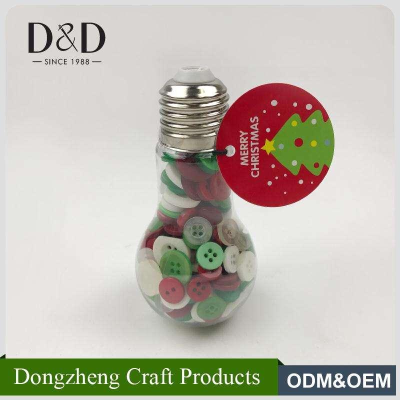 Moda de alta calidad tamaño personalizado ronda botones duraderos con bombilla