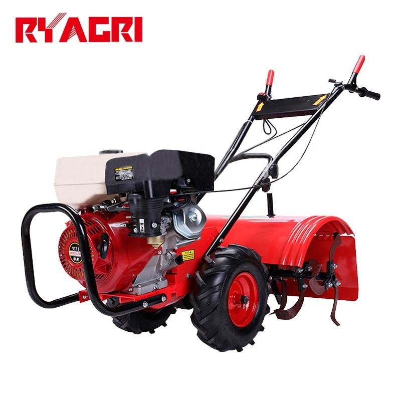 agricultural 6.5hp 7.5hp 10hp gasoline / diesel mini power tiller with blade for Nepal