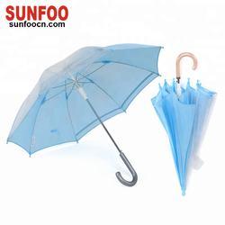 19 inch auto open clear children kid umbrella