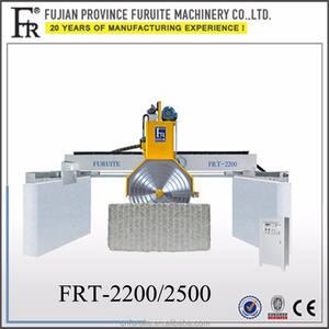 2016 FRT-2200多刃虎ブリッジがタイプ組み合わせ石切断機用自然石。