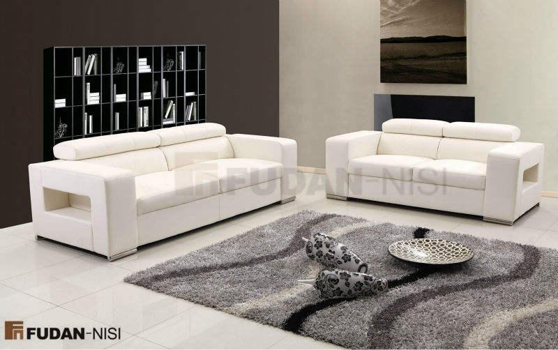 Elegante y grácil última del diseño del sofá FM115