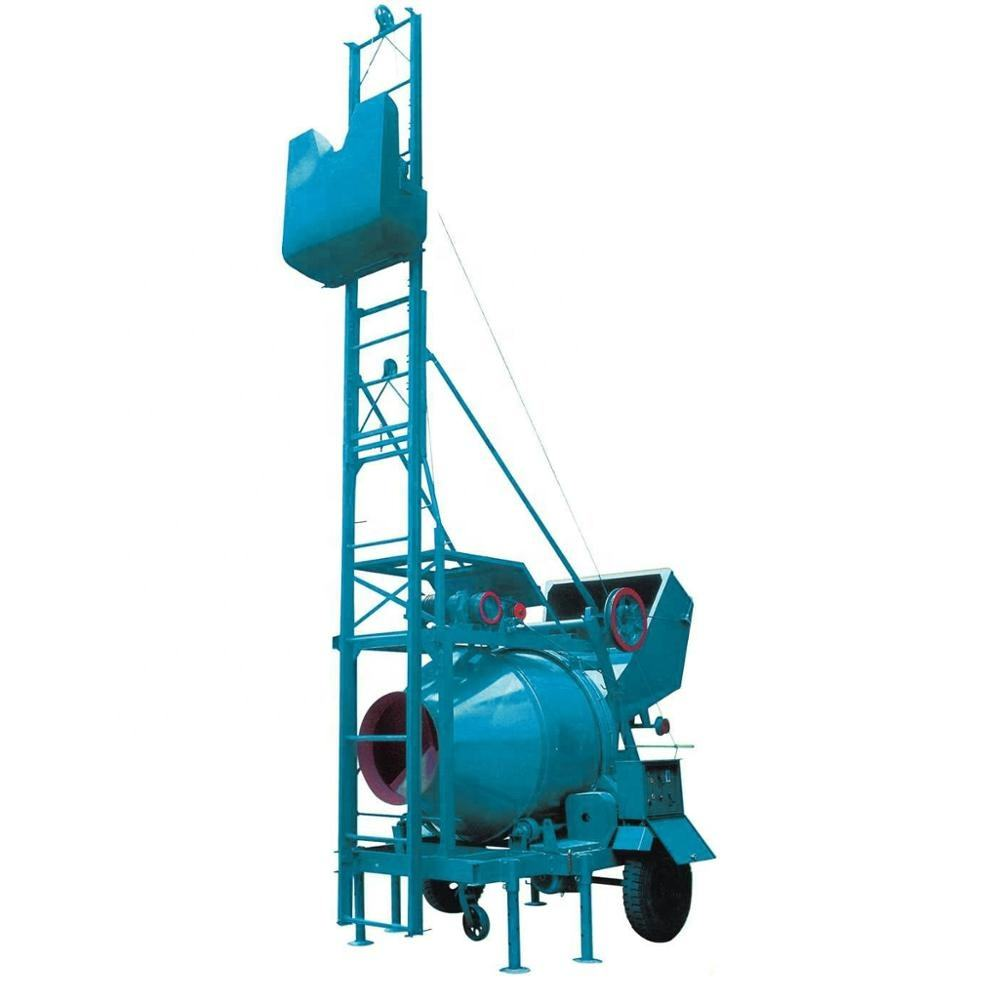 Hot Selling!!! JZC350 Diesel concrete mixer machine with lift price