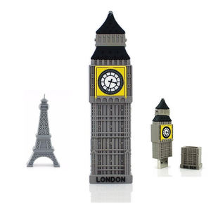 Groothandel Big Ben Vorm USB Flash Drive 4GB 8GB Big Ben USB Pen Drive