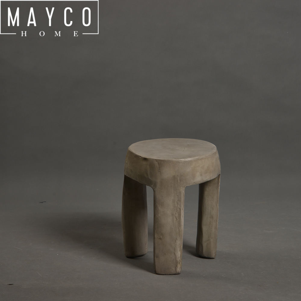 Mayco <span class=keywords><strong>Vintage</strong></span> Style Industriel Petit Assis Tabouret pour Plant Stand
