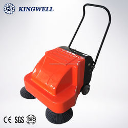 KW-920 Super Quality Hand Push Street Clean Sweeper