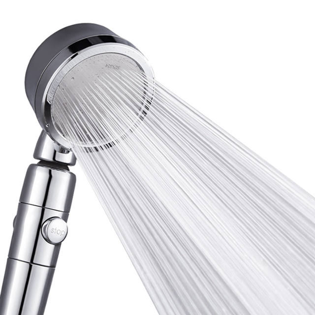 High pressure saving water Hand Shower 360 degree adjustable Rain shower head
