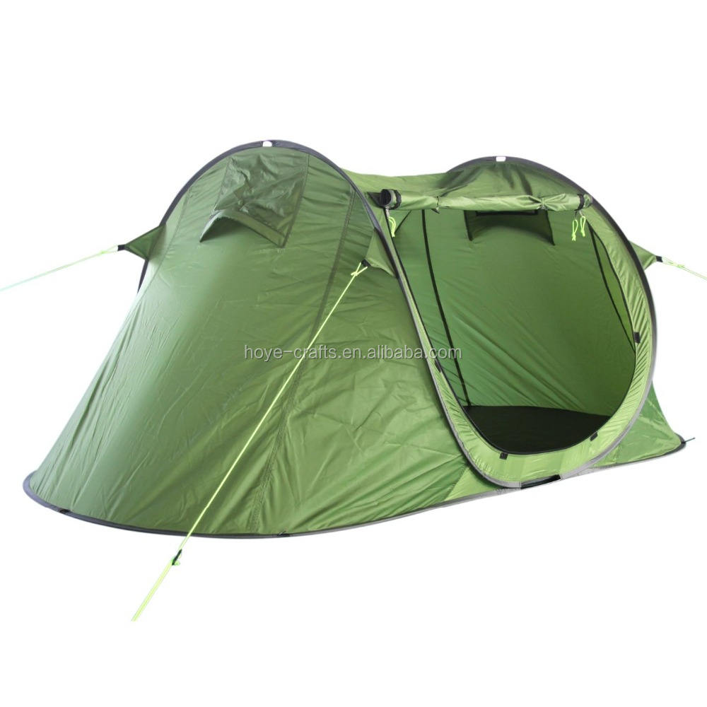 1-2 people single layers pop-up tent for outdoor camping