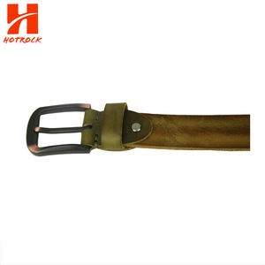 Split cowhide leather Men belt Casual fashion pin Dress Belts Manufacturers form China