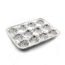 Baked oven usage 12 items aluminum foil cake pan tray
