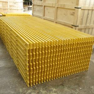 Composto Decking Passarela Grating de FRP