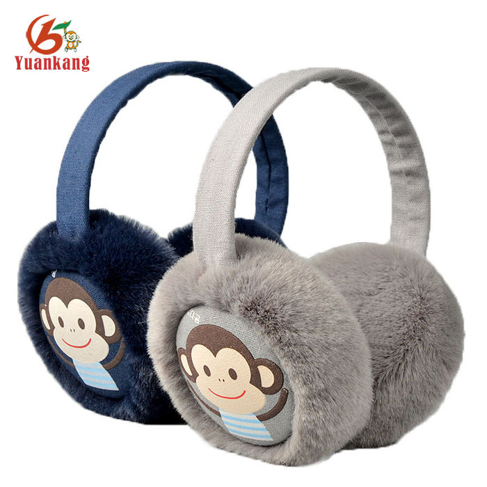 By The Way English Quote Winter Earmuffs Ear Warmers Faux Fur Foldable Plush Outdoor Gift